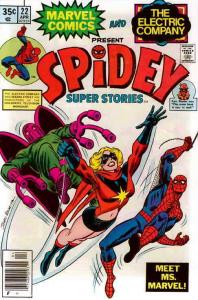 Spidey Super Stories #22 VG; Marvel | low grade comic - save on shipping - detai