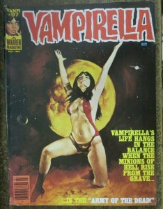 VAMPIRELLA #97 (Warren, 7/1981) VERY GOOD (VG) loose cover