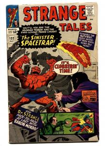 STRANGE TALES #132 comic book-HUMAN TORCH-THING-DR. STRANGE-1965 FN