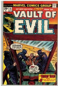 VAULT OF EVIL (1973) 18 VG-F April 1975