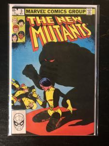 New Mutants #3 - 1st App of Demon Bear