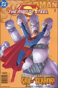 DC SUPERMAN: THE MAN OF STEEL #123 NM