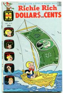 RICHIE RICH DOLLARS AND CENTS #45 1971-HARVEY COMICS VF