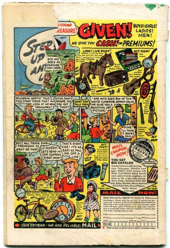 Adventures of Bob Hope #27 1954- Tiki / Hawaiian cover- hula girls G