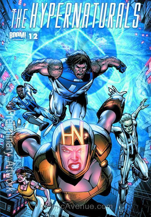 Hypernaturals, The #12 VF/NM; Boom! | save on shipping - details inside