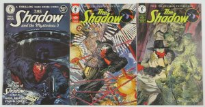 the Shadow #1-2 VF/NM complete series + the Mysterious 3 - Mike Kaluta set lot