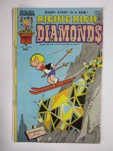 RICHIE RICH DIAMONDS #20 (Harvey, 10/1975) VERY GOOD MINUS (VG-)
