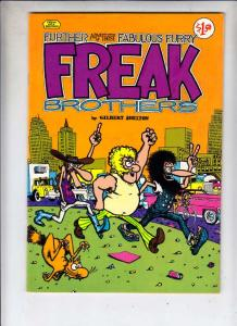 Fabulous Furry Freak Brothers #2 (Jan-80) NM- High-Grade The Freak Brothers (...