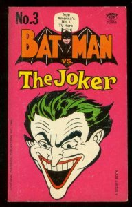 BATMAN vs. THE JOKER PAPERBACK-1st PRINT-ROBIN-DC--1966 VF