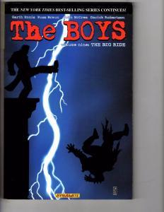 The Boys Volume # 9 Dynamite Comics TPB Graphic Novel Comic Book Big Ride J162