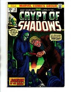 Crypt of Shadows #10 - Marvel Horror - 1974 - FN