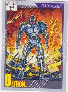 1991 Marvel Universe #84 Ultron