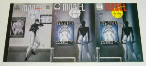 Model By Day #1-2 complete series + 2nd print - kevin j. taylor rip off bad girl
