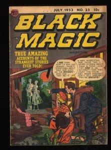 Black Magic #25 VG 4.0