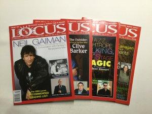 Locus Magazine 2005 529 530 532-537 Very Fine Vf 8.0 Locus Publishing
