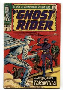 Ghost Rider #2 1967-Marvel-2nd issue-Dick Ayers art VG+