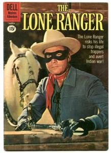 The Lone Rangers #138 1961- 15 cent cover- Dell Western VG/F