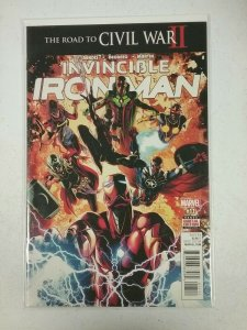INVINCIBLE IRON MAN #11 (2016) MARVEL NW38