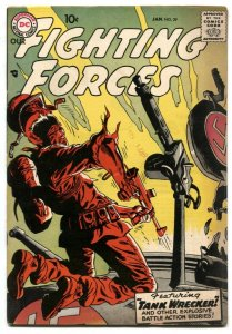Our Fighting Forces #29 1957- Joe Kubert cover VF-