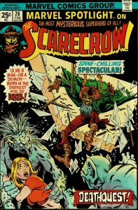 Marvel Spotlight #26 - VF/NM - The Scarecrow