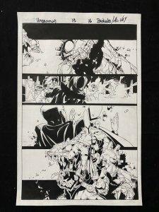 Uncanny X-Men #13 Page 16 Original Comic Book Art - Chris Bachalo 2012