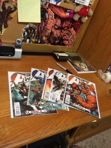 Avx Avengers Vs. X-Men 5 6 7 8 12 All Nm/M Varinats 1:25 Each