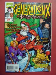 GENERATION X  #1 HOLIDAY SPECIAL (9.0 to 9.2 or better)  MARVEL COMICS