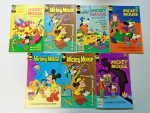 Mickey Mouse lot 7 different books VG condition (bronze + copper age eras)