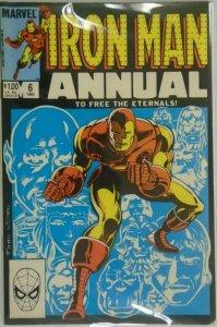 Iron Man ANN #6 DIR - 4.5 VG+ - 1983