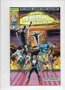 MARVEL AGE #59, VF/NM, New Universe, 1985 1988 more Marvel in store