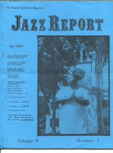 Jazz Report Vol 9 #1 1973-jazz and music collectors info-buy/sell ads-G