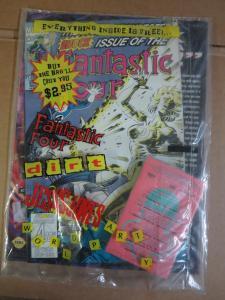Dirt Magazine Bagged Marvel Fantastic Four #376 Jesus Jones Black 47 F-VF