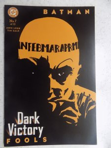 BATMAN DARK VICTORY # 7