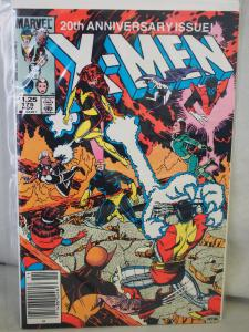 The Uncanny X-Men 175  VF/NM  condition.  Unread. 1983 . 20th Anniversary Issue