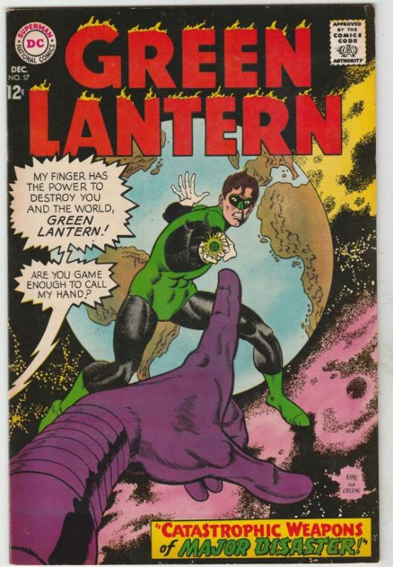 Green Lantern #57 (Dec-67) VF/NM High-Grade Green Lantern