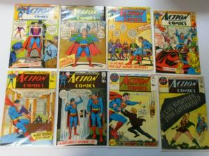 Early Bronze Age Action Comics Lot From:#384-447, 48 Diff. Avg 4.0 VG (1970-75)