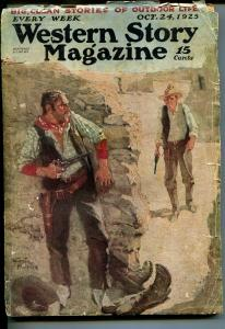 Western Story 12/31/1938-Happy New Year issue-romantic pulp cover-G