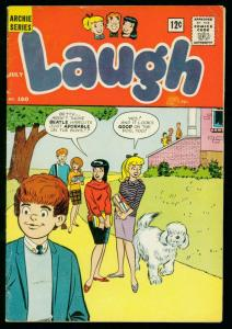 LAUGH #160 1964-ARCHIE COMICS- JOSIE by DeCarlo- VG/FN