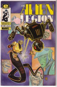 Alien Legion (vol. 1, 1984) # 5 VG (Epic) Potts/Cirocco