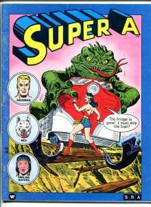 SUPER A -#2-1977-DC COMICS CHARACTERS-WONDER WOMAN COVER-AQUAMAN-REX-vg