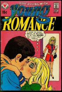YOUNG ROMANCE #167 1970--DC ROMANCE--COOL FN