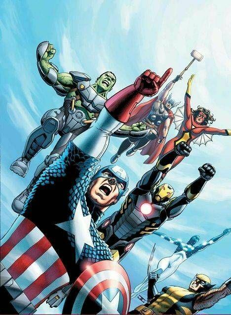 Avengers World #1 Poster by John Cassaday (24 x 36) Rolled/New!