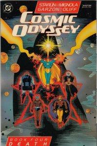 COSMIC ODYSSEY  BOOK 4  (FN/VG)  MARVEL COMICS