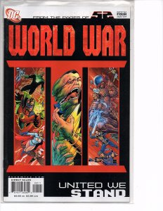 DC Comics 52 World War 3 United We Stand #4 NM Ethan Van Sciver