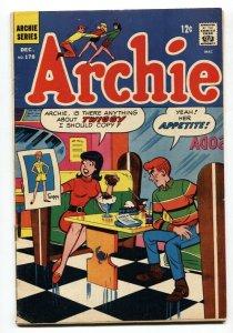 Archie #178 1968-soda shop-ice cream-Twiggy tribute-VG