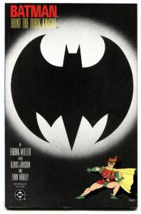 BATMAN THE DARK KNIGHT RETURNS book #3-CARRIE KELLEY cover-1986