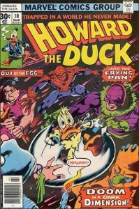 Marvel HOWARD THE DUCK (1976 Series) #10 VF