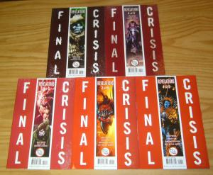 Final Crisis: Revelations #1-5 VF/NM complete series - greg rucka set 2 3 4 lot