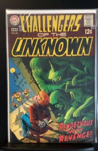 Challengers of the Unknown #66 (1969)