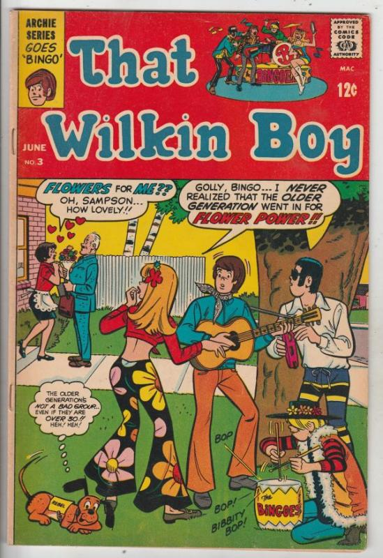 That Wilkin Boy #3 (Jun-69) VF+ High-Grade Wilkin